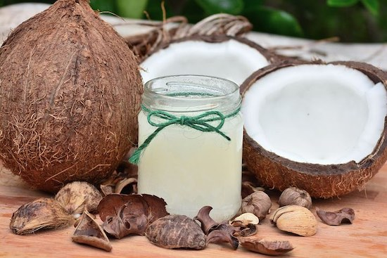 Coconut Oil is better for your health than Sunflower Oil!