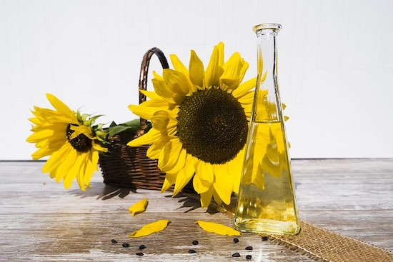 Refined oils, such as sunflower oil can lead to serious health issues, you really need to avoid them!